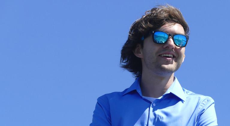 Boyan Slat ist der Erfinder von Ocean Cleanup.