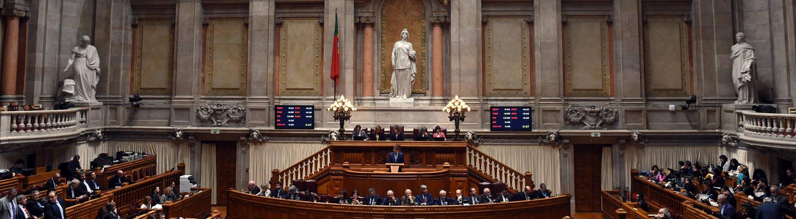 Portugiesisches Parlament in Lissabon