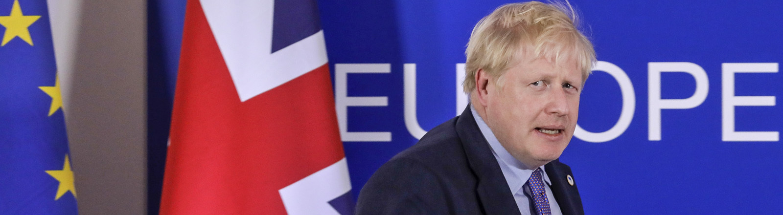 Boris Johnson in Brüssel am 17.10.2019
