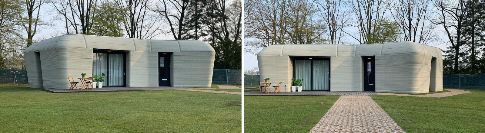 Schichtweise ausgedruckt: Dieses Haus aus dem 3D-Drucker steht im niederländischen Eindhoven