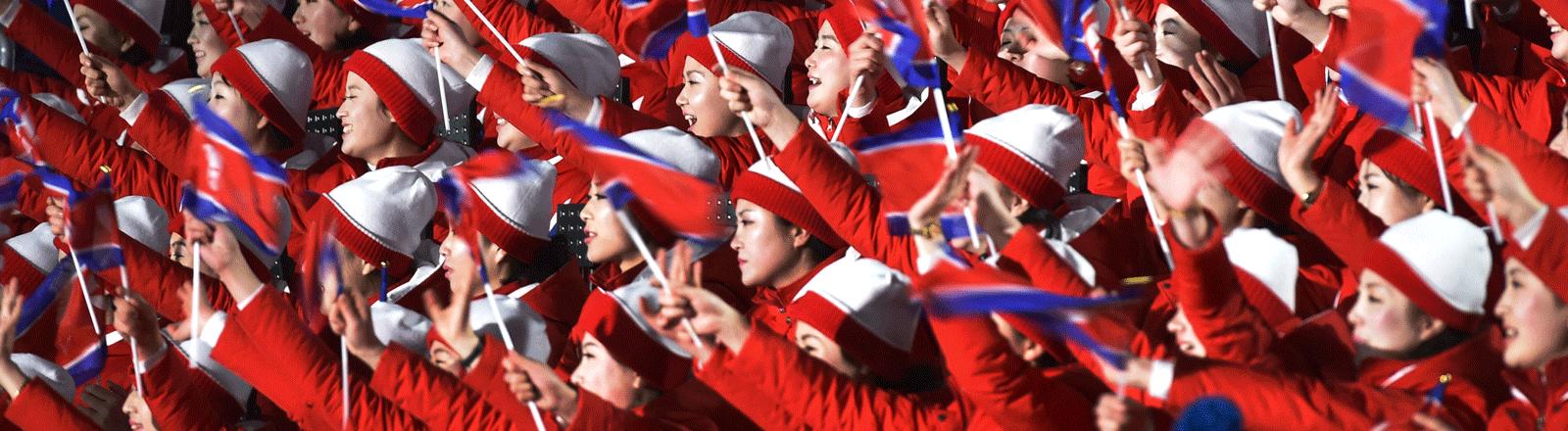 Nordkoreaner bei Olympia