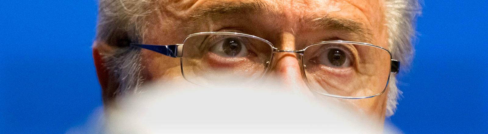 Sepp Blatter Präsident der Fifa