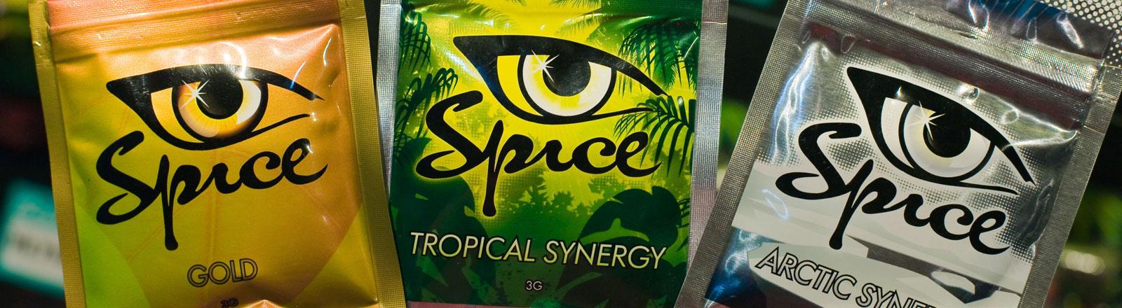 Die Droge Spice, die in Polen als Legal High verkauft wird.