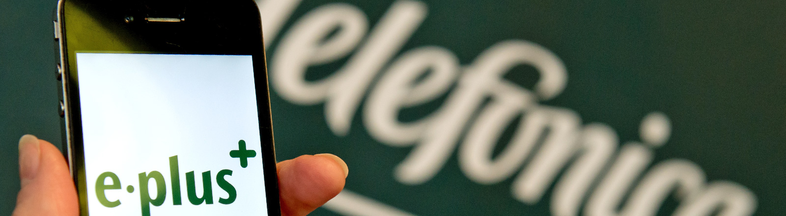 Der Telefon-Konzern Telefonica hat sich E-Plus unter den Nagel gerissen.