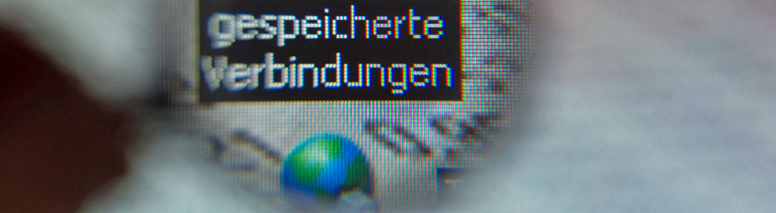 Symbolbild Vorratsdatenspeicherung