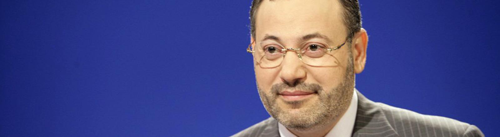 Der Al-Dschasira-Journalist Ahmed Mansur