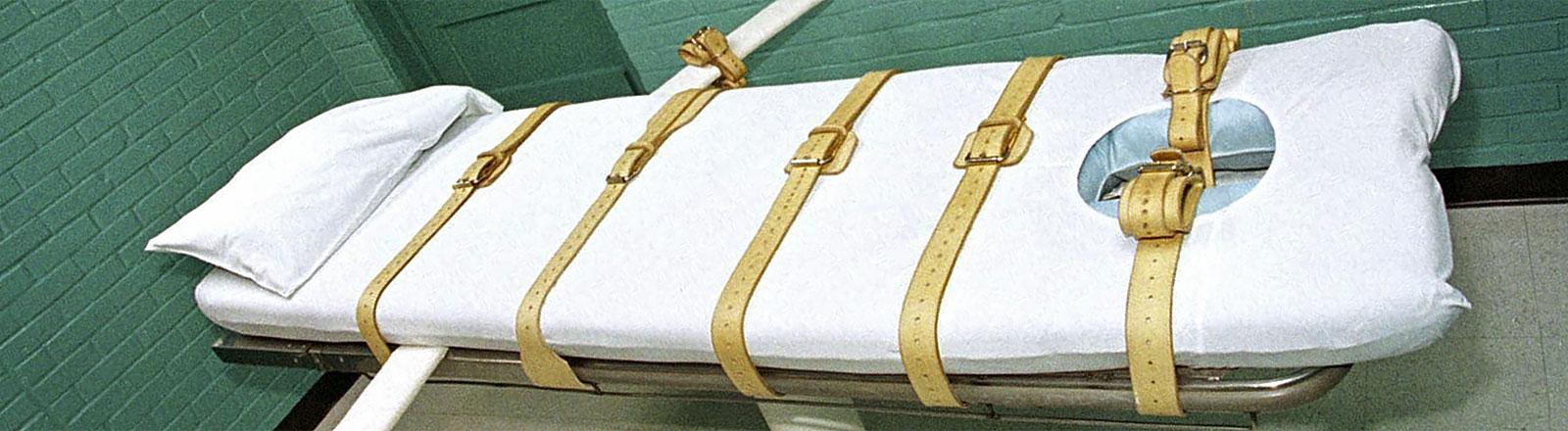 Todeszelle des Huntsville-Gefängnisses in Texas