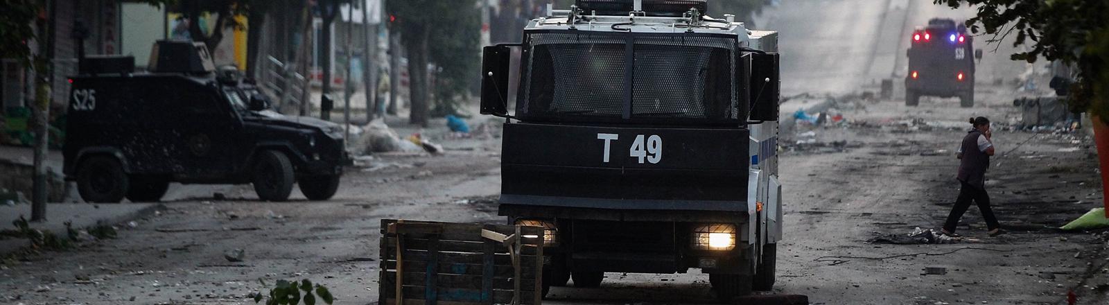Istanbul nach Anti-Regierungsdemonstration Ende Juli 2015.
