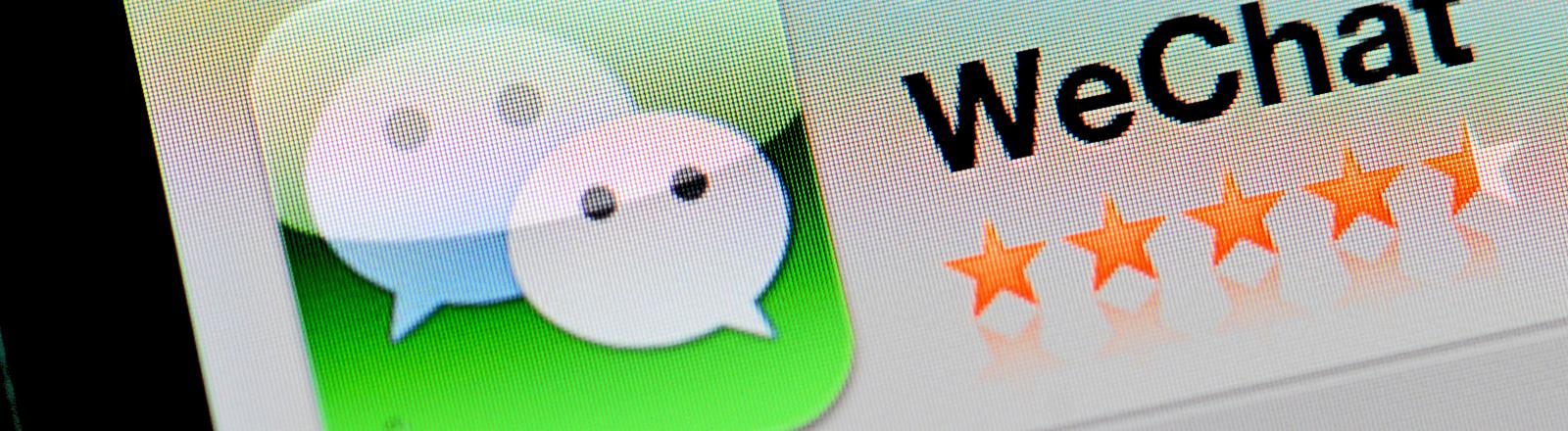 Der Messenger WeChat