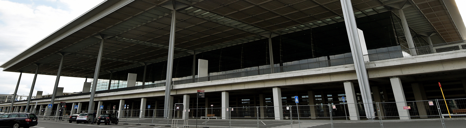 Dauerbaustelle: Der BER-Hauptstadtflughafen.