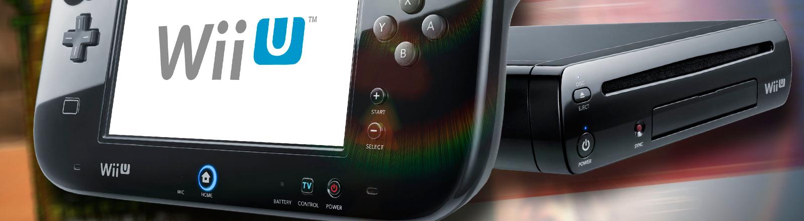 Die Videospielkonsole WiiU.