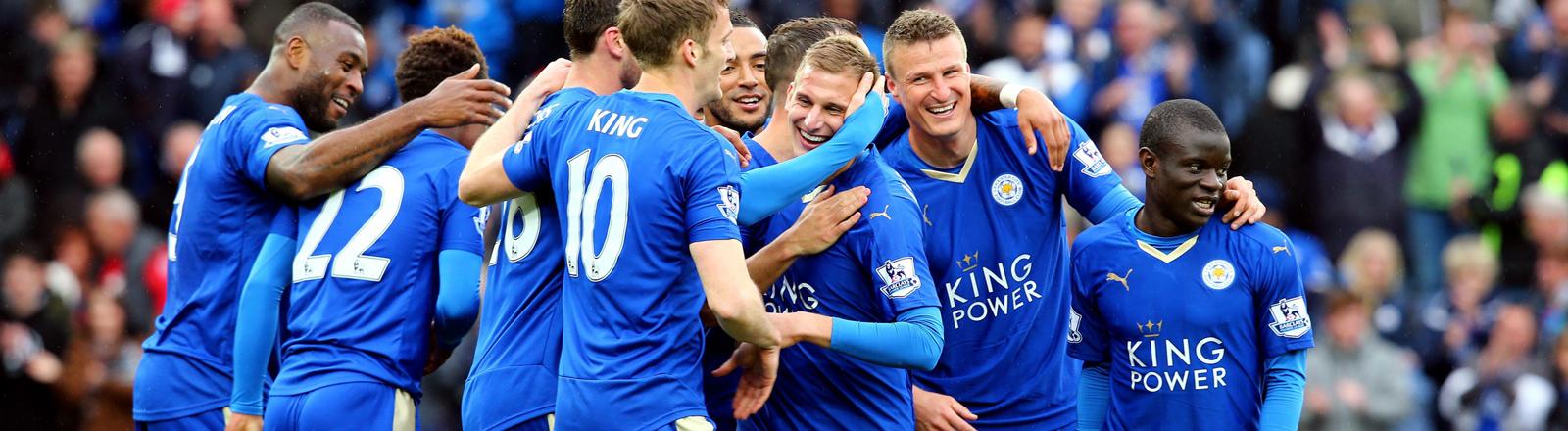Die Fußballmannschaft von Leicester City