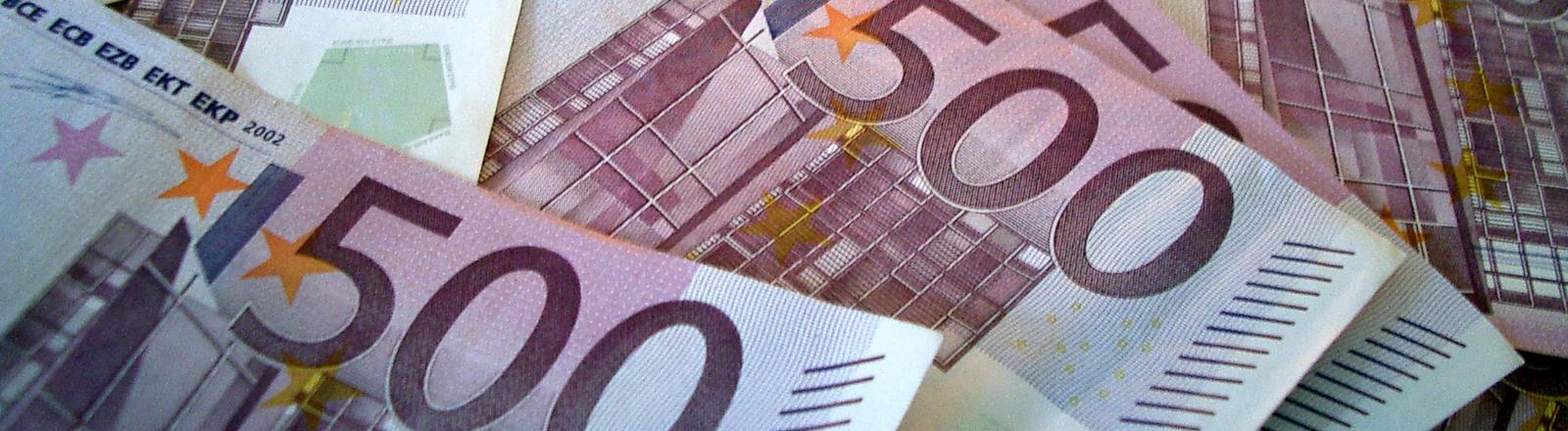 500 Euro Geldscheine