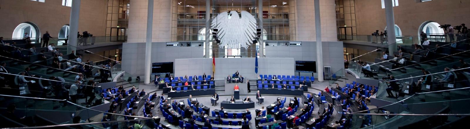 Deutscher Bundestag von innen