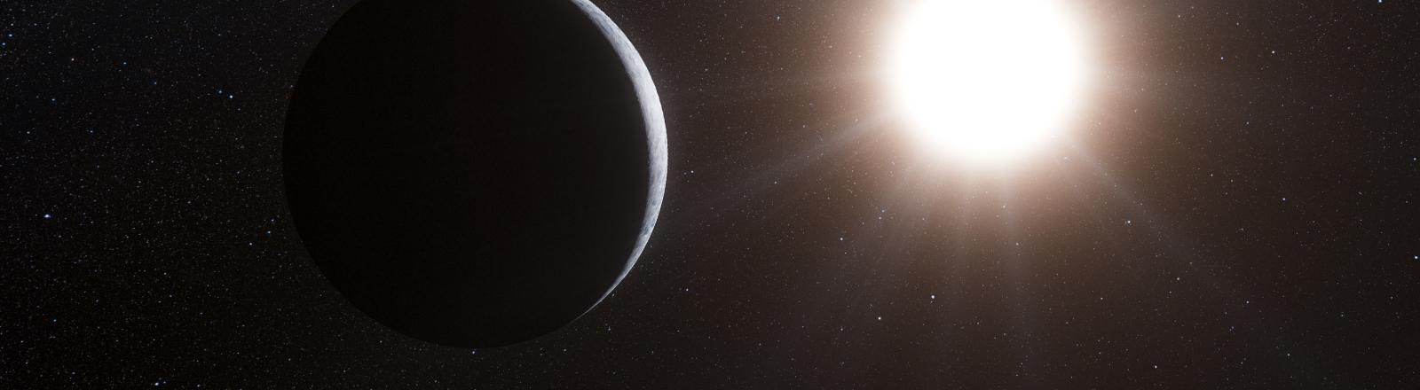 Ein Planet im Umreis von Alpha Centauri B.