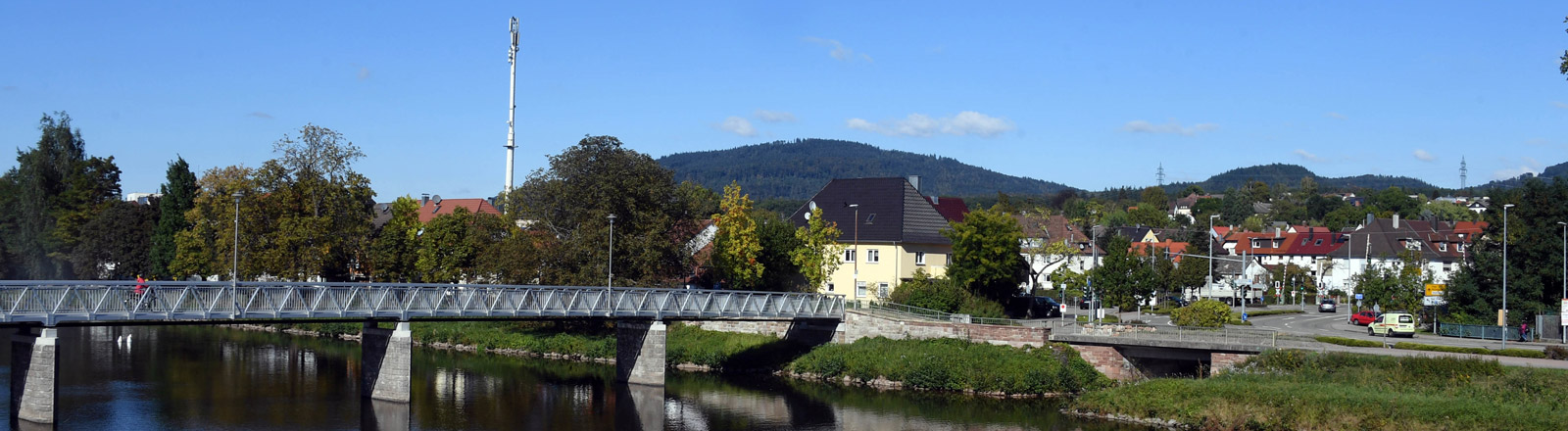 Blick auf die Stadt Gaggenau