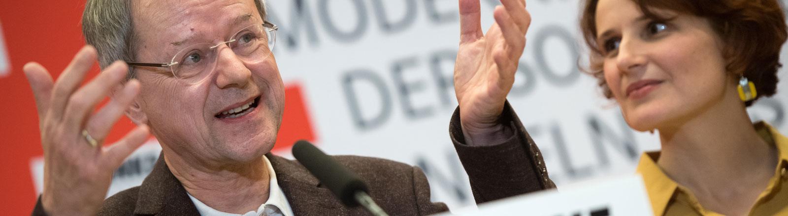 Armutsforscher Christoph Butterwegge als Kandidaten der Linken für die Bundespräsidentenwahl