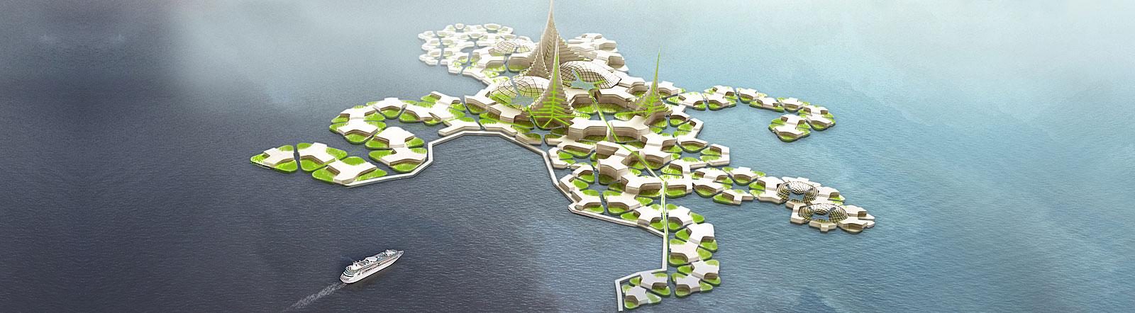 Städtebau der Zukunft, Vision des Seasteading Institute