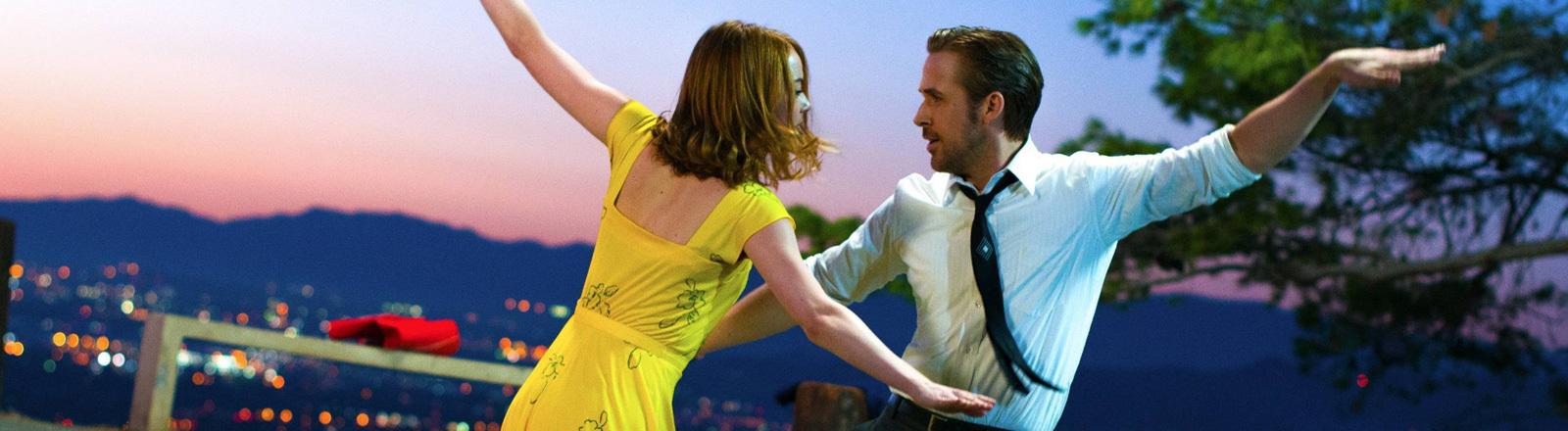 Szene aus dem Filmmusical La La Land.