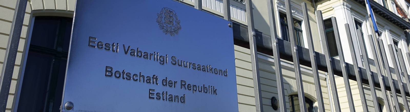 Die estnische Botschaft in Berlin