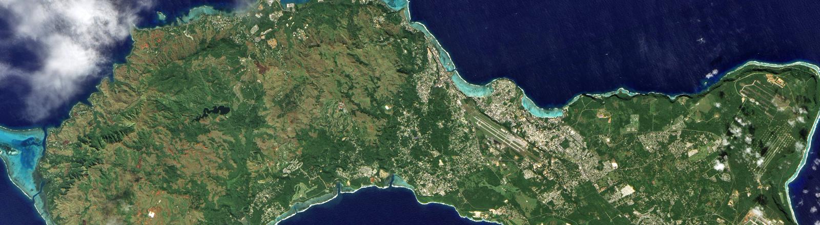 Die Insel Guam.