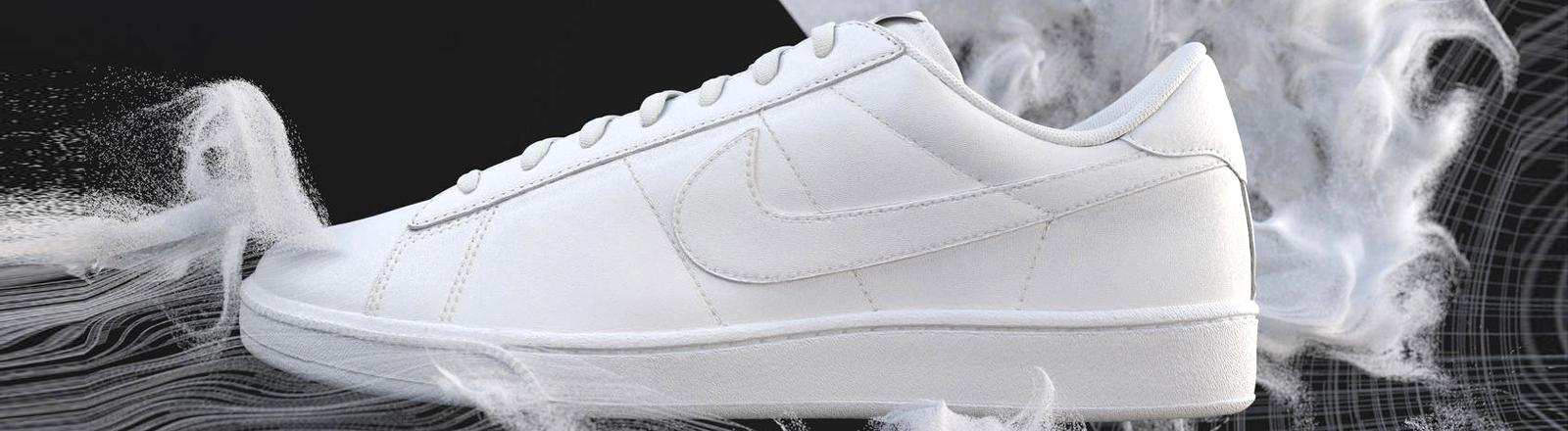 Nike Flyleather Tennis Classic - Schuh aus Lederresten gefertigt