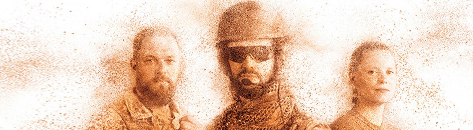 Bildausschnitt Plakat der Bundeswehrserie Mali