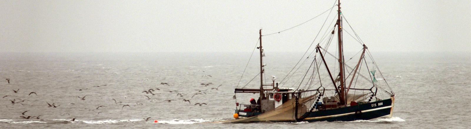 Fischkutter auf der Nordssee