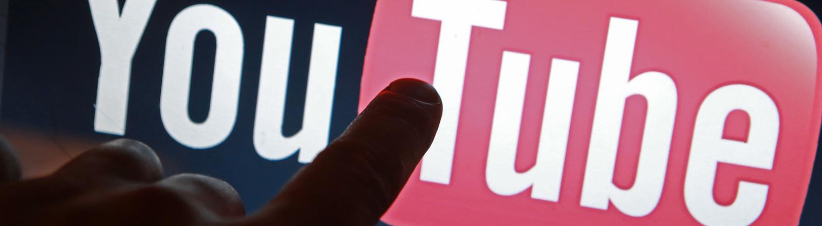 Das Youtube-Logo; Foto: dpa