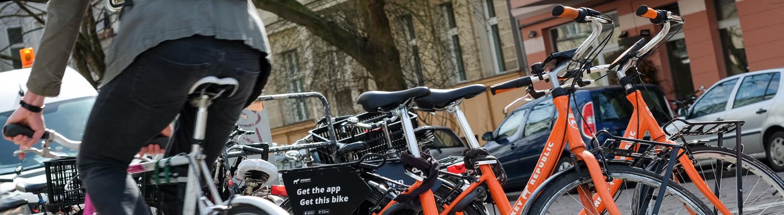 Leihfahrräder in Berlin, Prenzlauer Berg