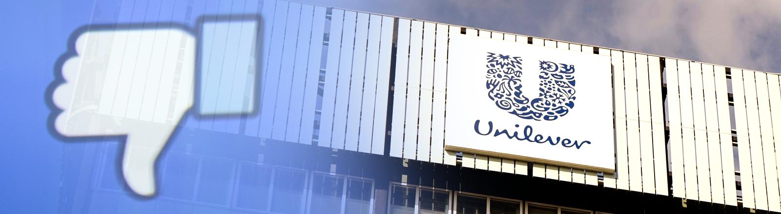 Das Konzerngebäude von Unilever