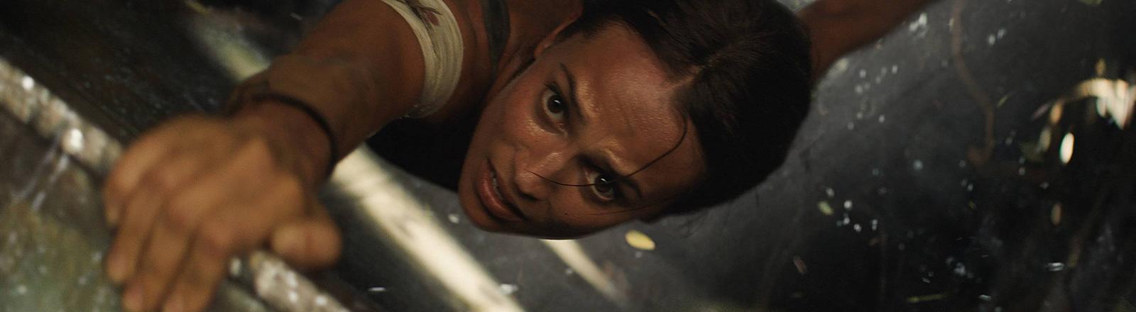 Filmszene aus Tomb Raider