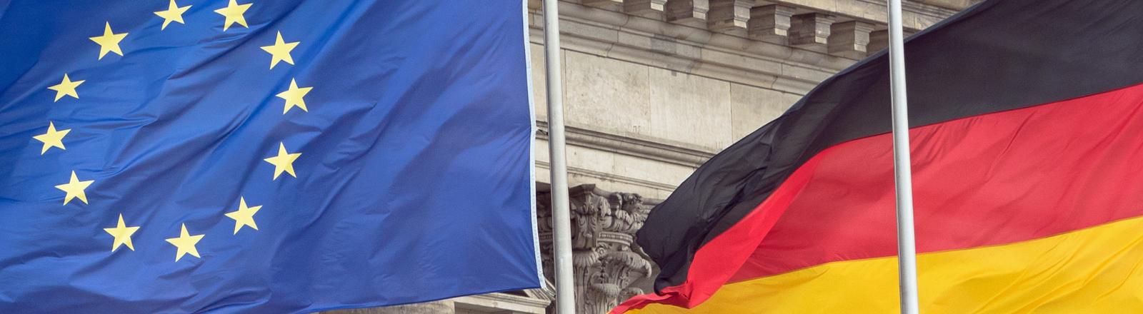 Europa und Deutschland.