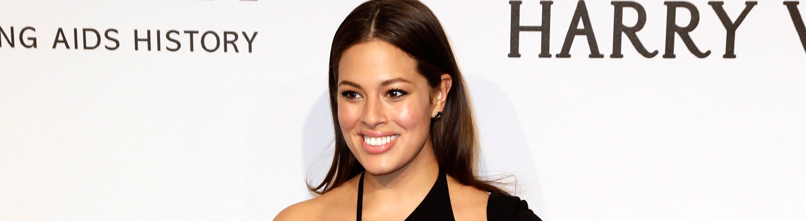Das Plus-Size-Model Ashley Graham bei der Präsentation der Sports Illustrated 2015.