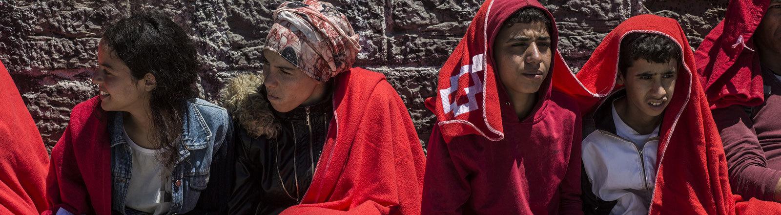 Migranten aus Marokko in Spanien