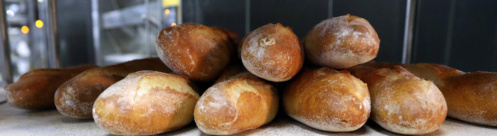 Ein paar Brote.