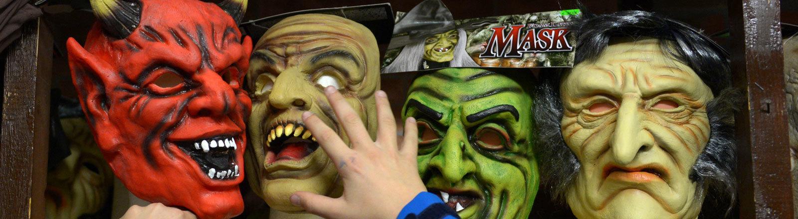 Halloween Masken