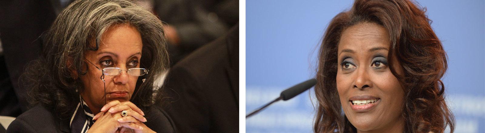 Sahle-Work Zewde, Bundespräsidenting Äthiopien, Meaza Ashenafi, Richterin am Obersten Gerichtshof Äthiopiens
