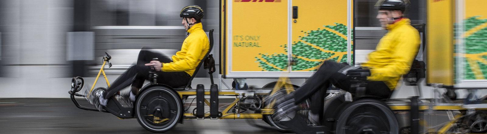 PK Deutsche Post beginnt mit City-Hub-Projekt in Frankfurt, Berlin