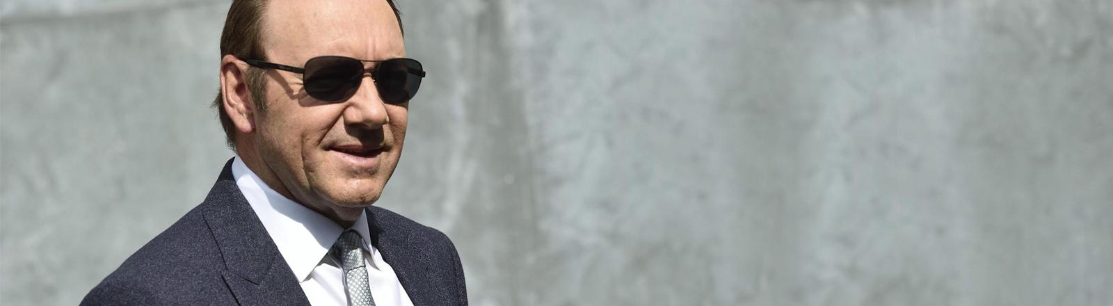 Kevin Spacey mit Sonnenbrille