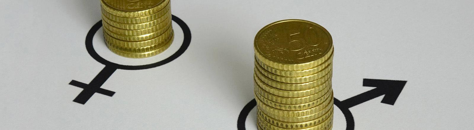 Symbolbild Gender Pay Gap