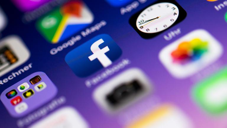 Apps auf einem Smartphone.