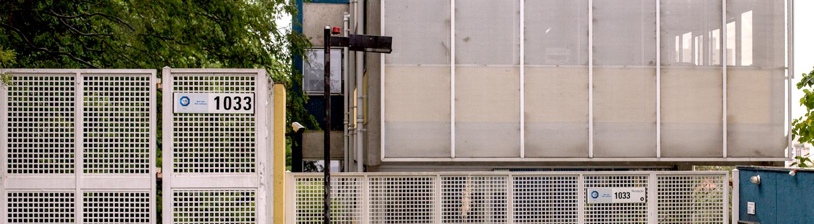 Eingang der Tüv-Büros in Brasilien