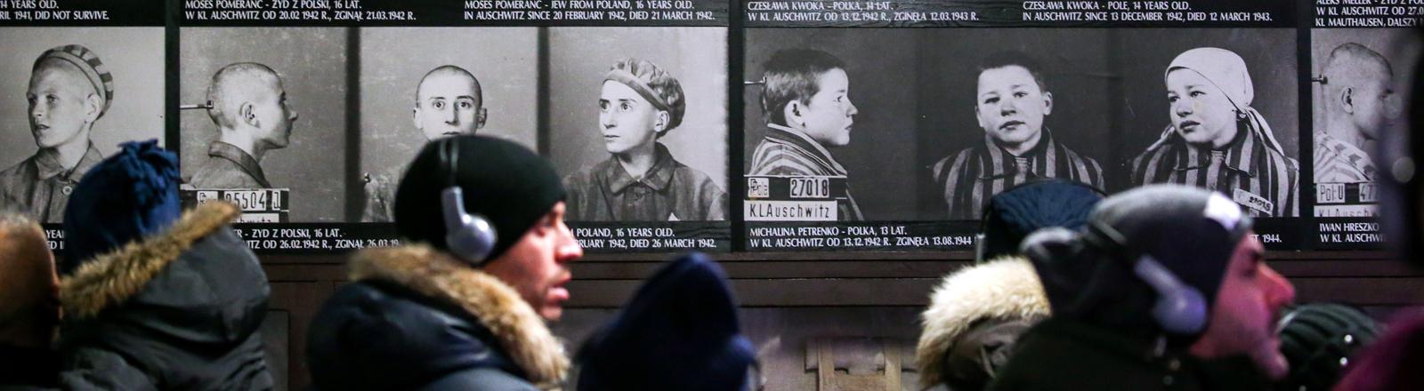 Das Museum Auschwitz-Birkenau am 26.01.2020