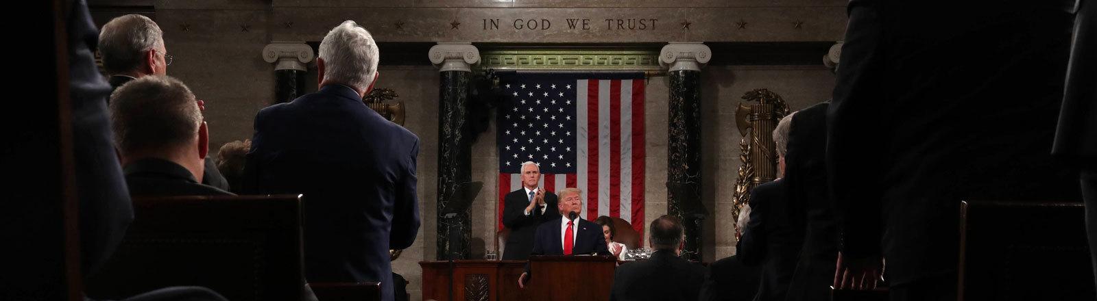 US-Präsident Donald Trump hält seine dritte Rede zur Lage der Nation (04.03.2020)