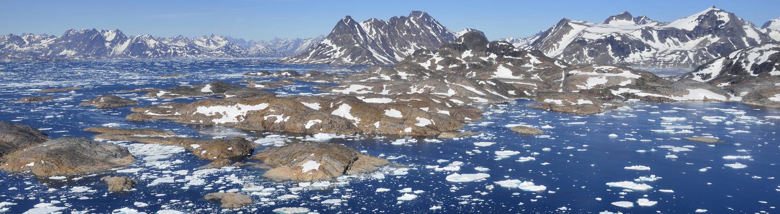 Der Osten Grönlands, die Region Ammassalik