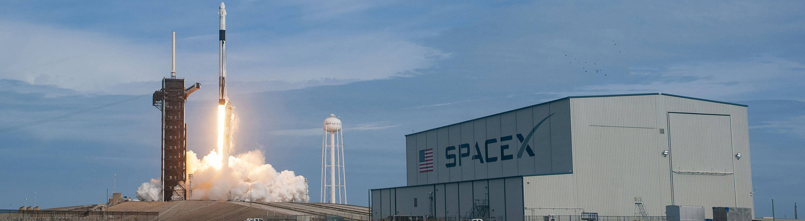 SpaceX im NASA Kennedy Space Center in Florida
