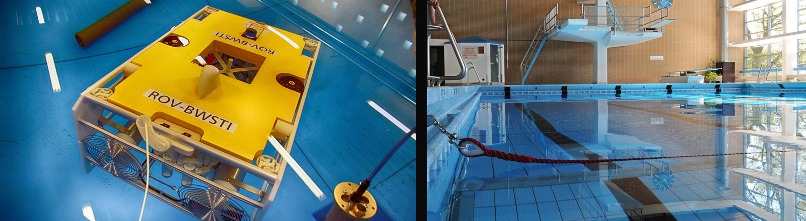 Prototyp des Rettungsroboters vom Fraunhofer Institu