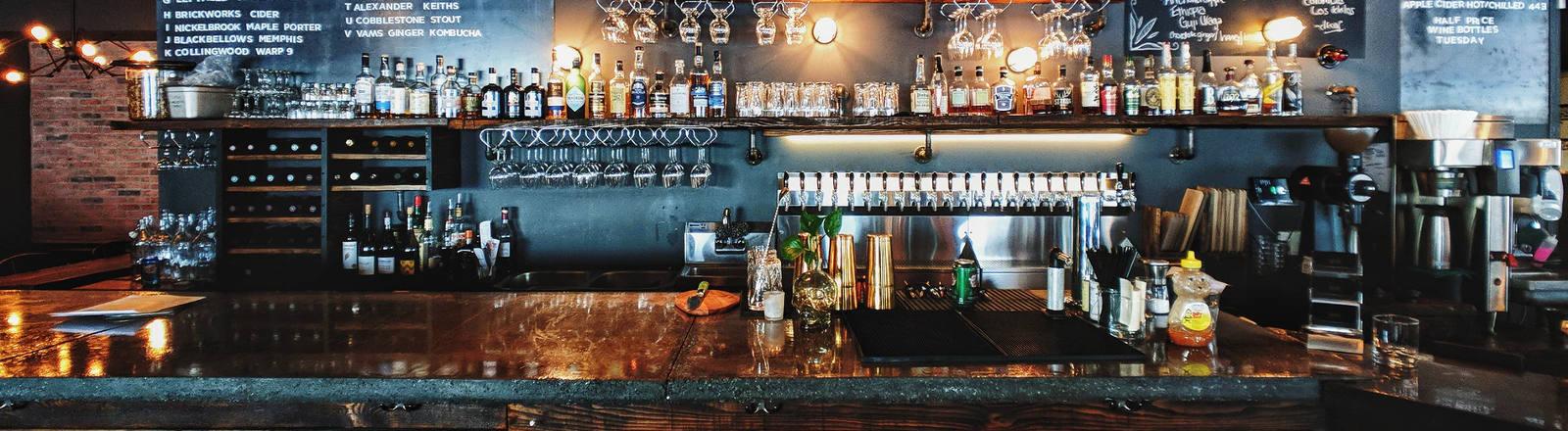 Eine Bar