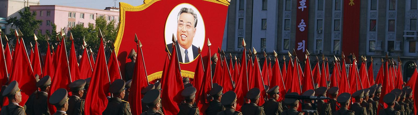 Militärparade in Nordkorea